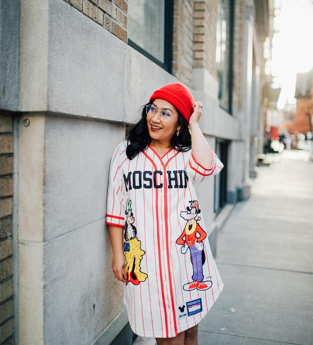 H&M Moschino HMOSCHINO Baseball Dress