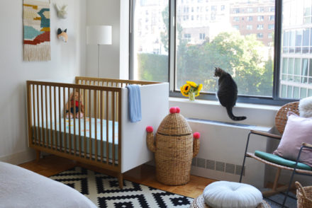 Decorating tips on sharing room with baby