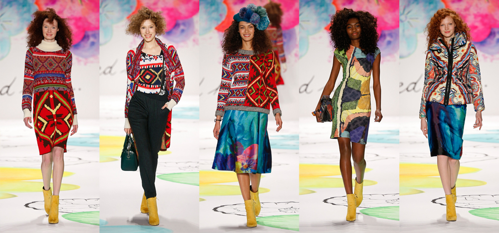 Desigual Fall Winter 2015 Collection