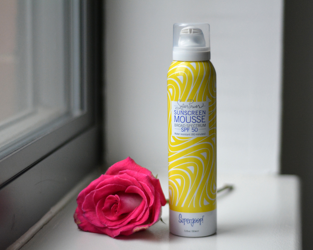 Super Power Sunscreen Mousse SPF 50