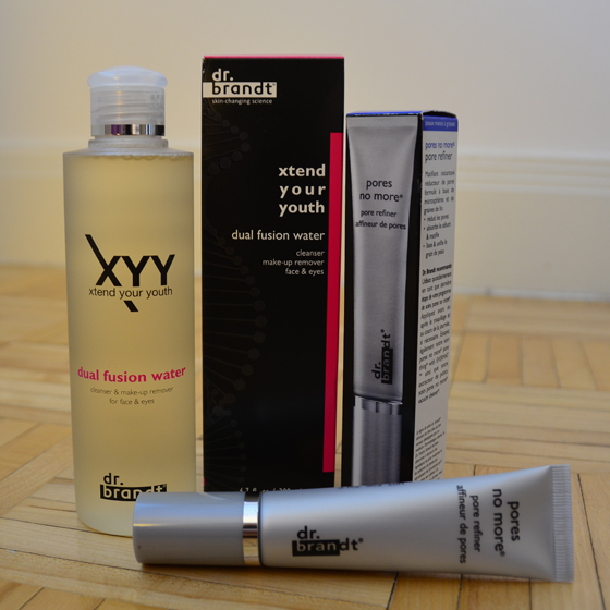 Dr. Brandt Skincare's Xtend Your Youth Dual Fusion Water and Pores No More Pore Refiner