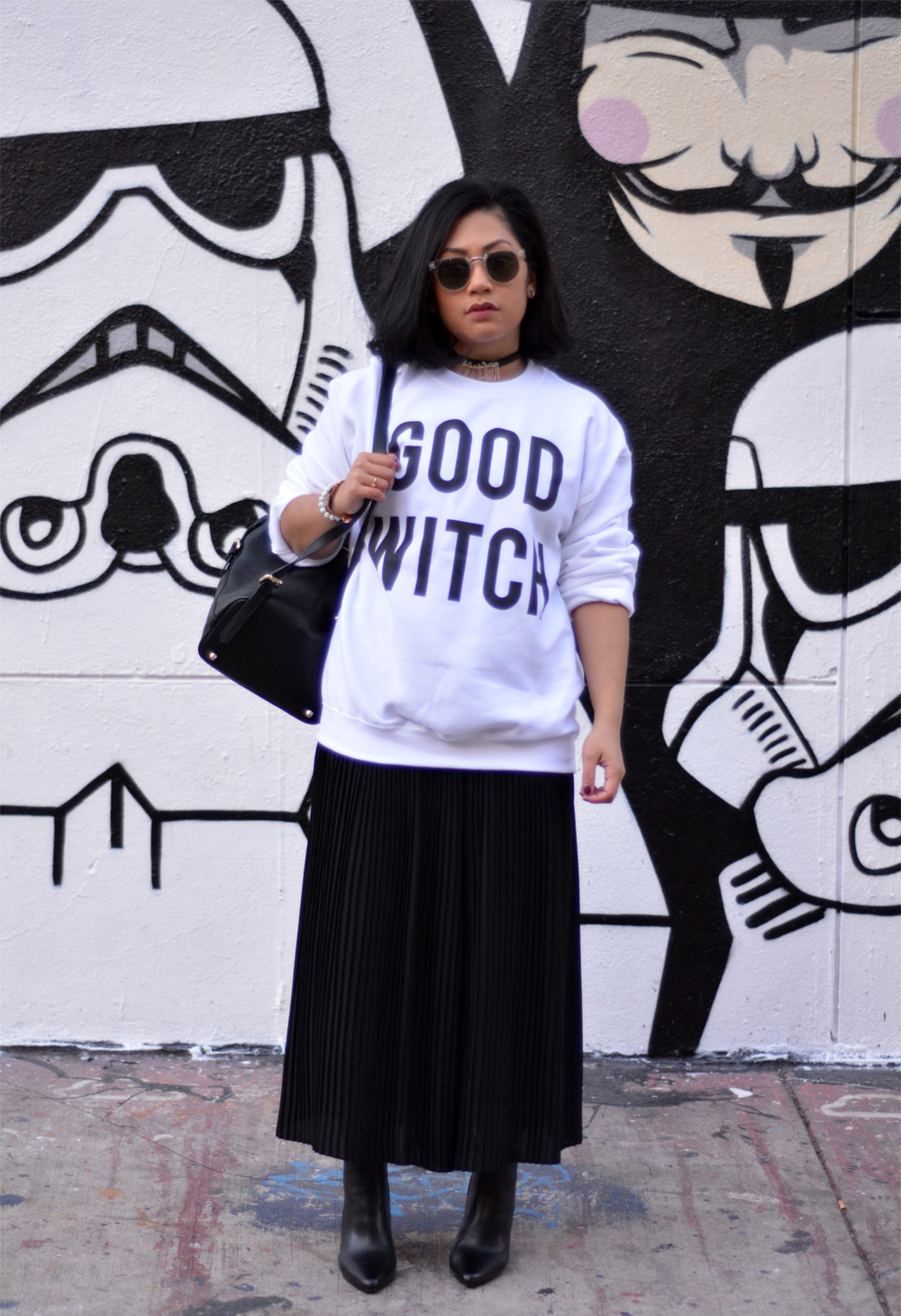TeesAndThankYou Good Witch Crewneck