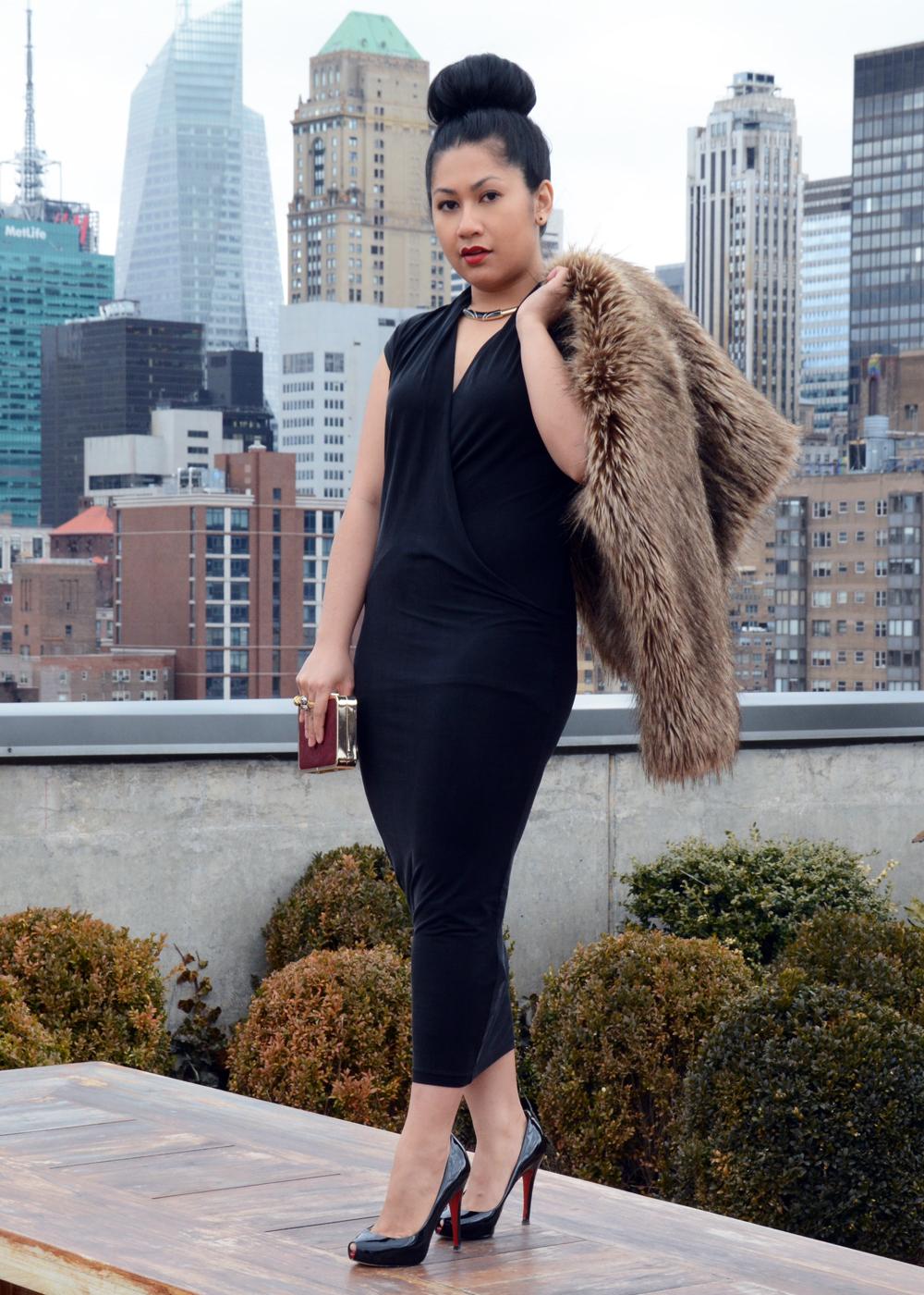 H&M Cupro Dress