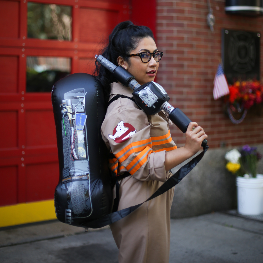 Fabulous Pop-Culture Halloween Costume Ideas, featuring Yates of Ghostbusters