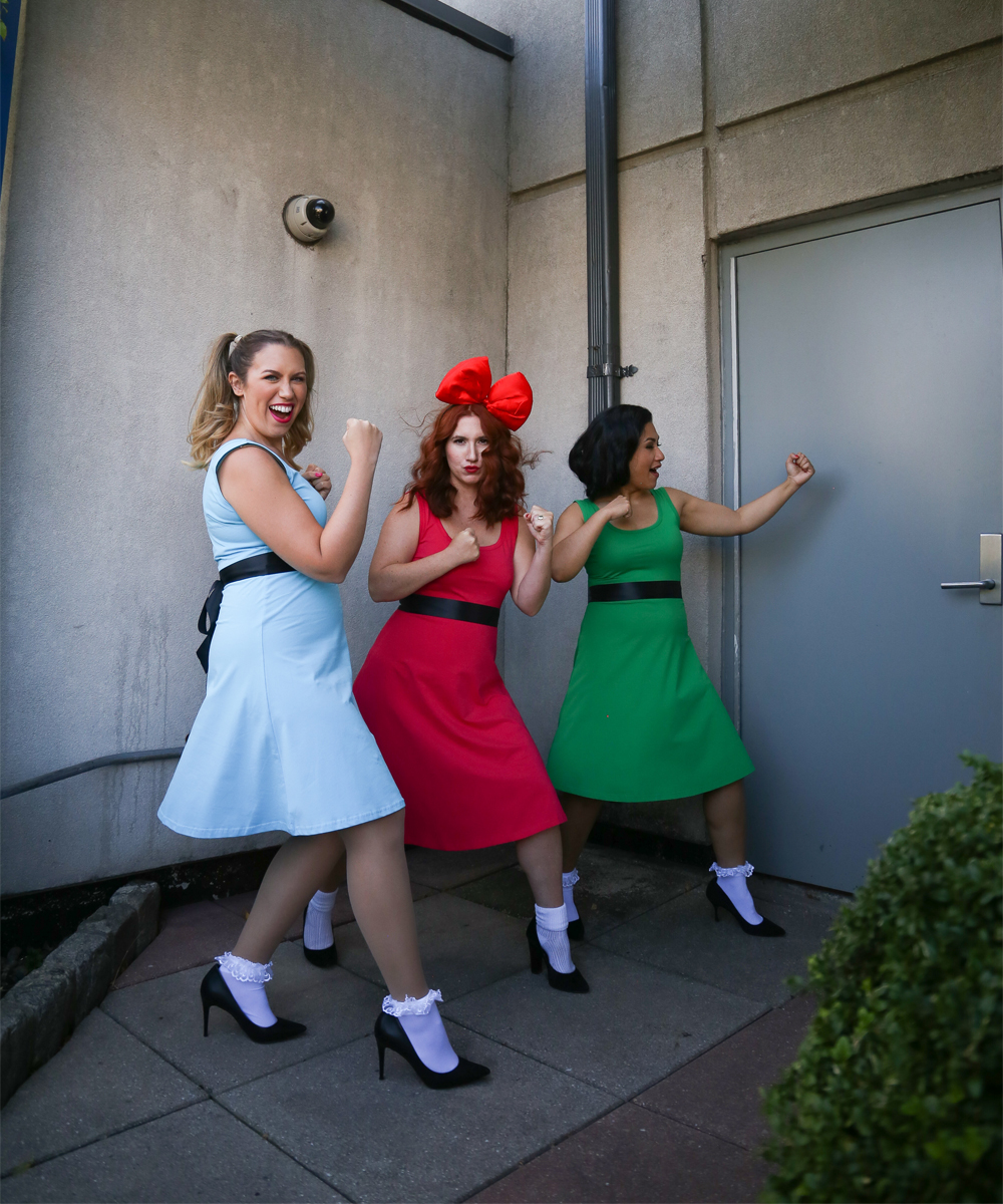 Fabulous Pop-Culture Halloween Costume Ideas, featuring the Powerpuff Girls
