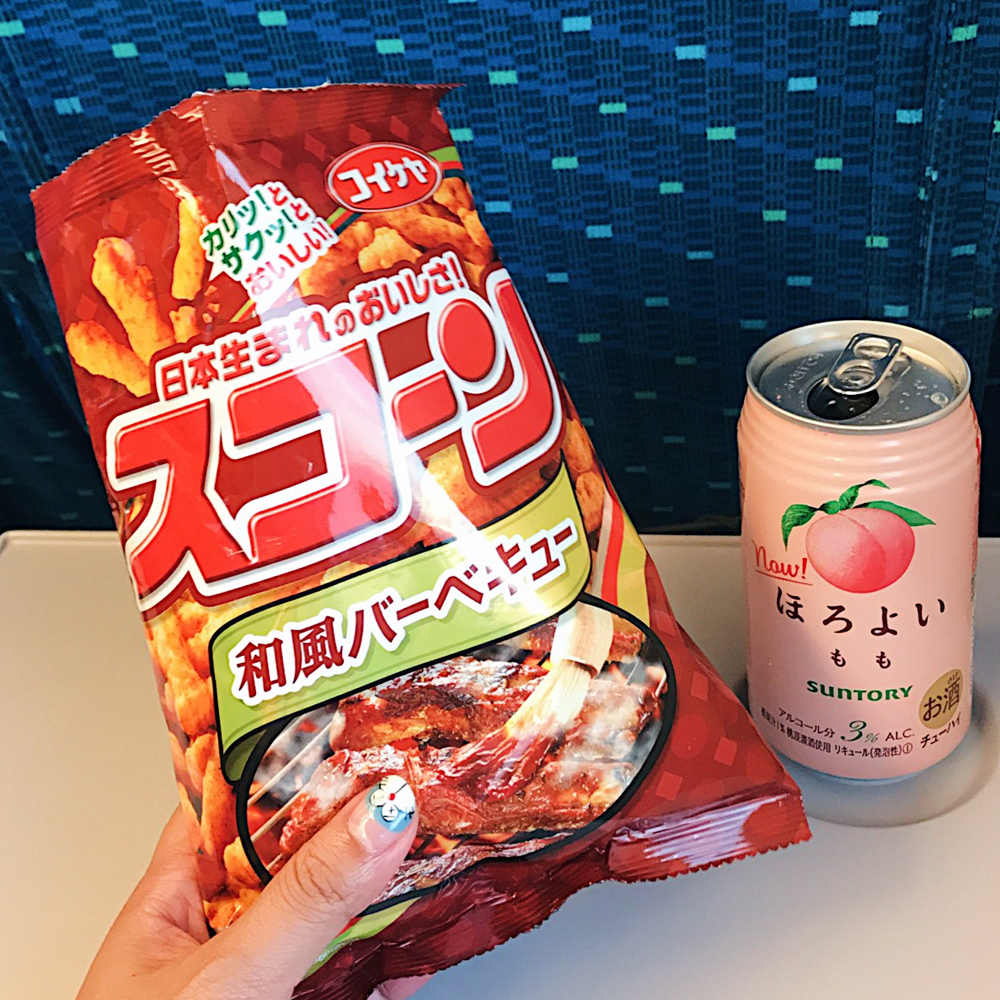 Train snacks from Harves Grocery Store (ハーベス 京都店)