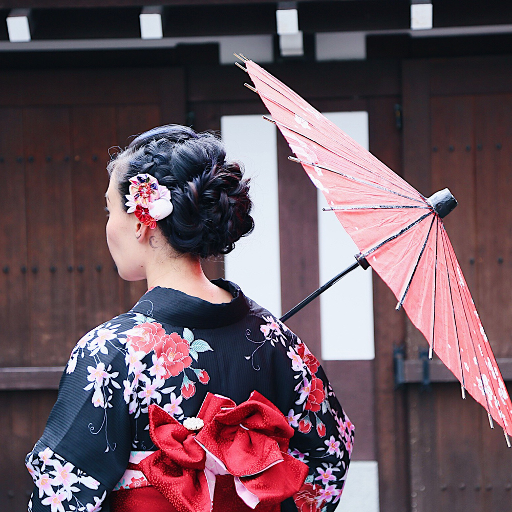 Of course Gion is one of the best place to get your kimono on