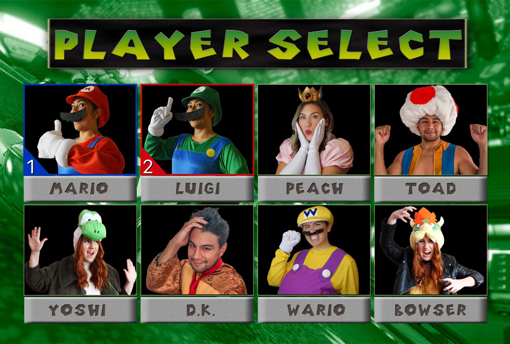 Dress up as your favorite MarioKart character for Halloween