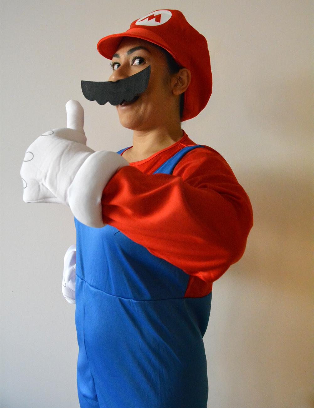 Mario Halloween costume idea for MarioKart fans
