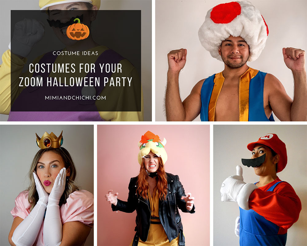 MarioKart costume ideas for your zoom halloween party