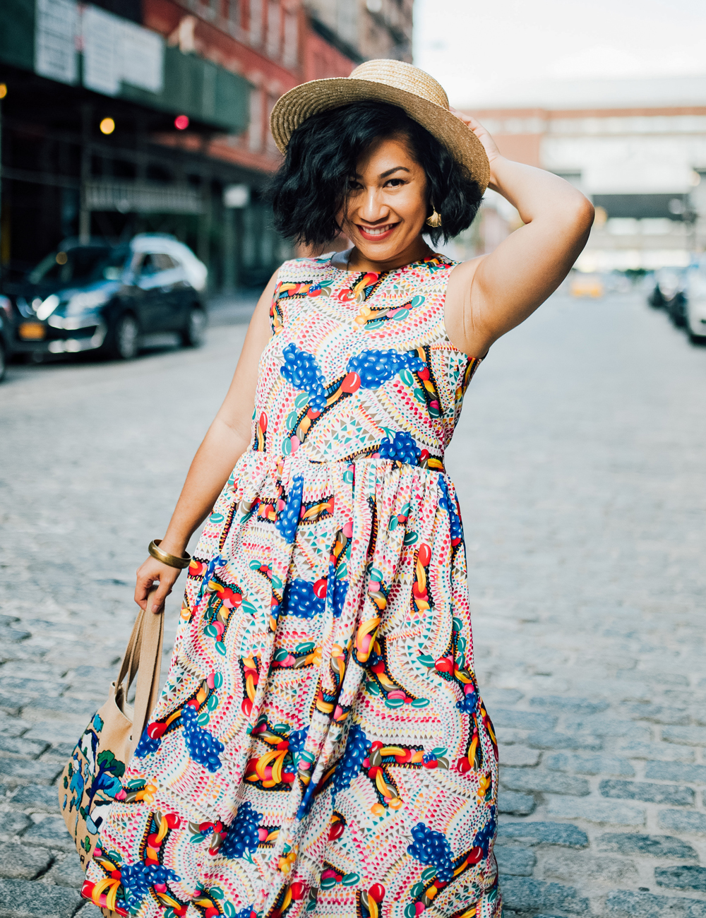 ModCloth Pepaloves Round of Aplomb Midi Dress