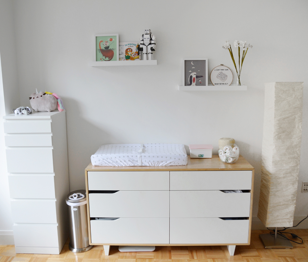 Fitting a nursery in a small space