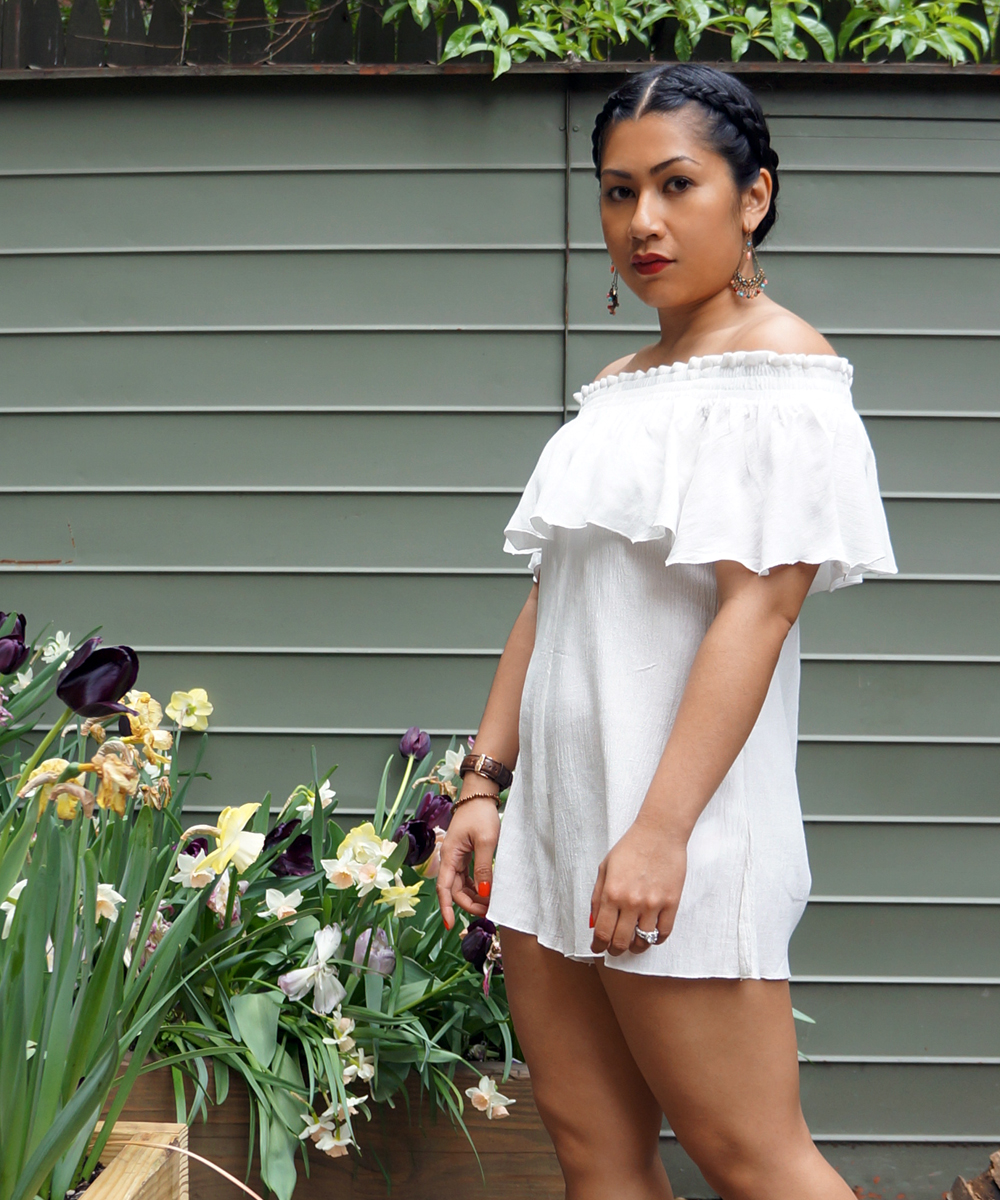 Somedays Lovin Bohemia Off Shoulder Romper