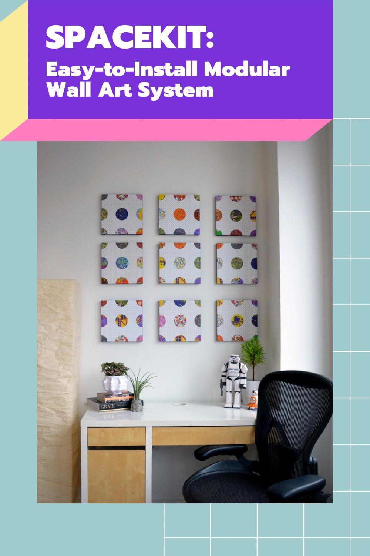 Spacekit:  Rental-Friendly Wall Art Kit