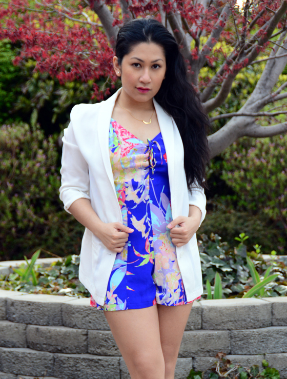 Yumi Kim Romper and H&M Jacket