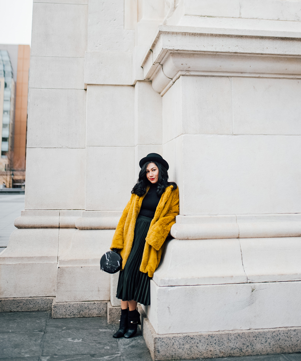 How to wear fur for spring