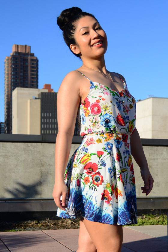 Yumi Kim Lena Tank & Cara Floral Silk Top